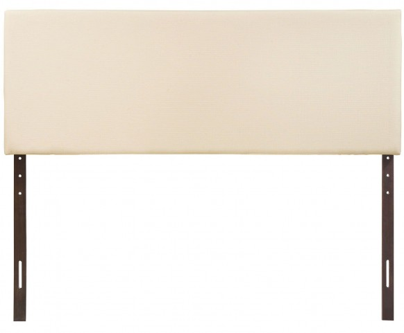 Region Ivory King Upholstered Headboard