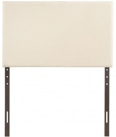 Region Ivory Twin Upholstered Headboard