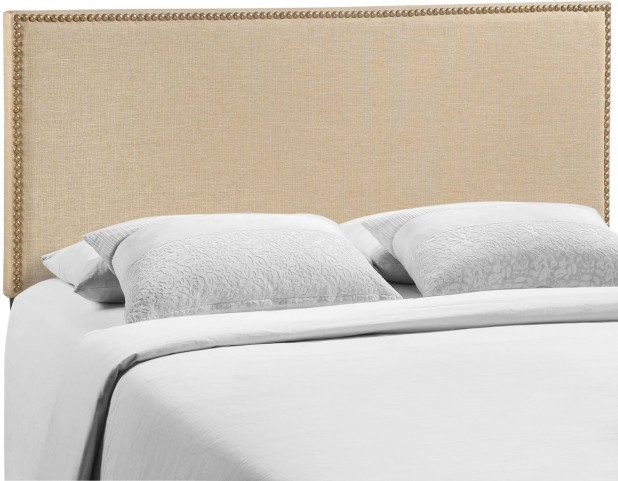 Region Cafe Queen Nailhead Upholstered Headboard