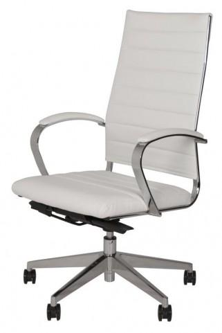 Sedia Moda White High Back Office Chair