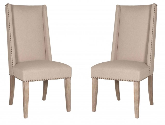 Morgan Stone Wash Dining Chair Set of 2