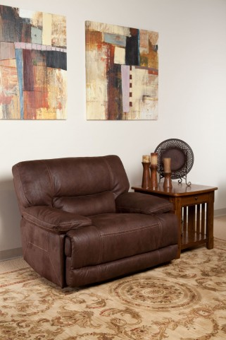 Pegasus Dark Kahlua Power Recliner