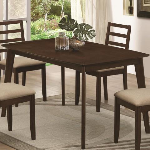 Mulligan Medium Brown Rectangular Dining Table