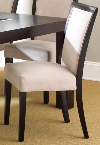 Movado Espresso Cherry Side Chair Set of 2