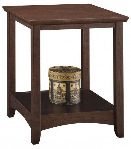 Buena Vista Madison Cherry End Table Set of 2