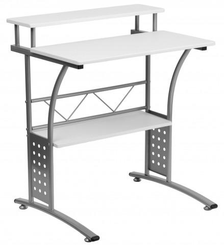 White Computer Desk Clifton