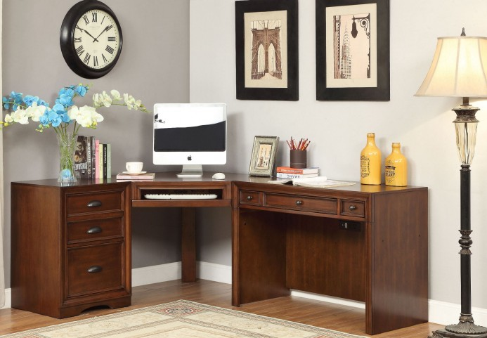 Napa Bourbon 3Pc Corner Desk