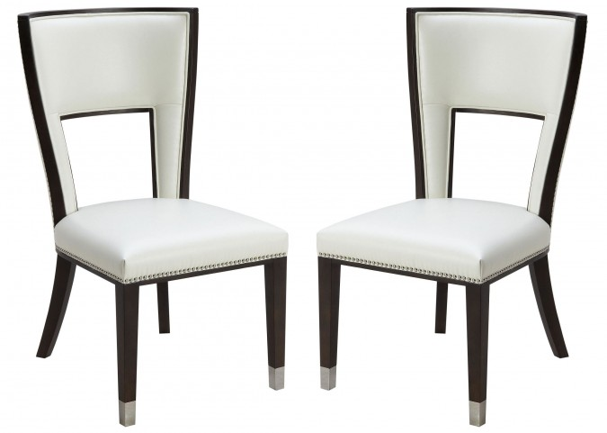 Naples Ivory Dining Chair Set of 2