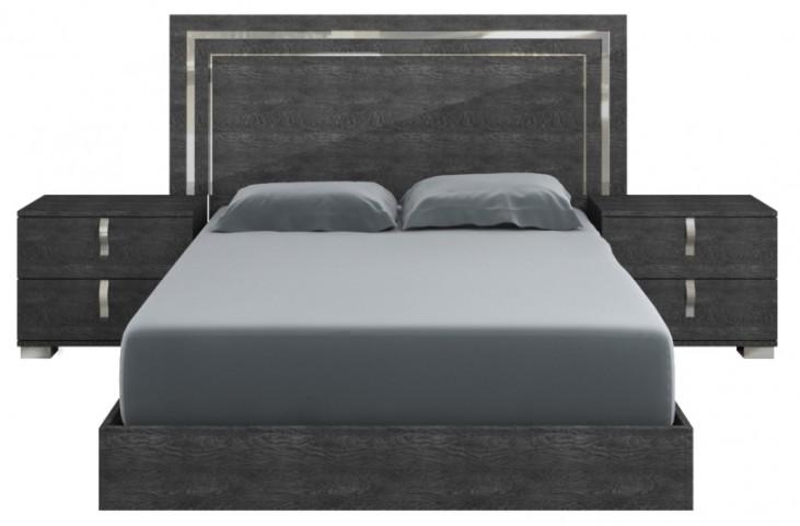 Vivente Grey Birch Noble Cal. King Platform Bed