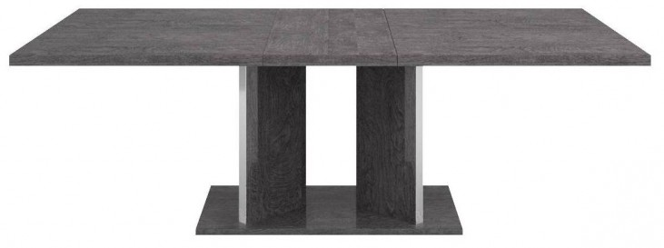 Vivente Grey Birch Noble Extendable Dining Table