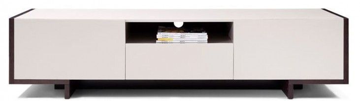 Nora Light Gray TV Stand