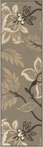 "Nuance Lily Taupe Runner 96"" Rug"