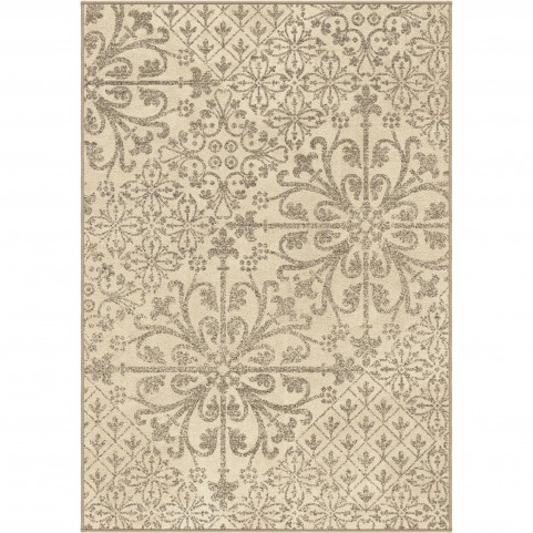 Offbeat Ikat Cream Medium Rug