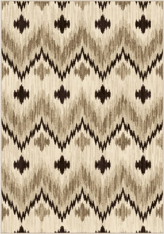 Orian Rugs Trendy Colors Chevron Princeton Beige Area Small Rug