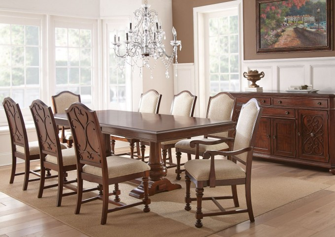 Norwich Extendable Rectangular Dining Room Set
