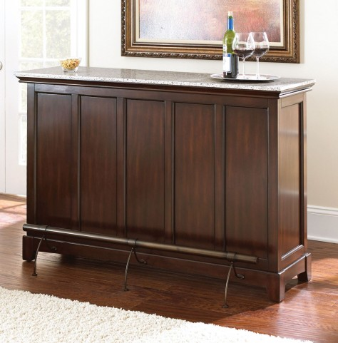 Newbury Medium Cherry Counter Bar