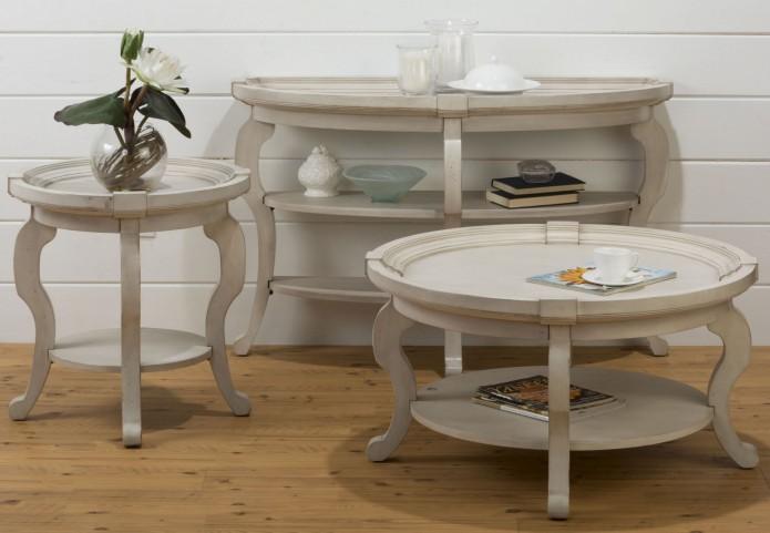 Sebastian Oval Occasional Table Set