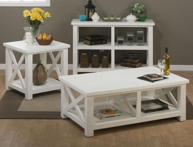 Madaket Reclaimed Pine Occasional Table Set