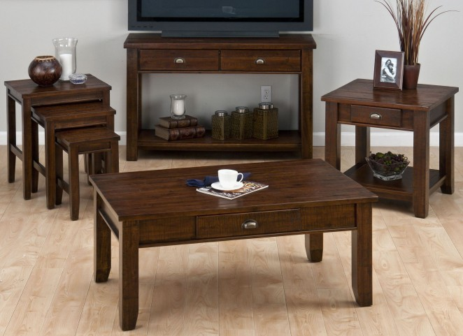 Urban Lodge Occasional Table Set
