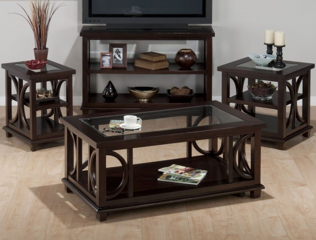 Panama Brown Occasional Table Set
