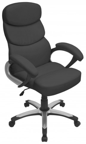 Doctorate Office Black Chair