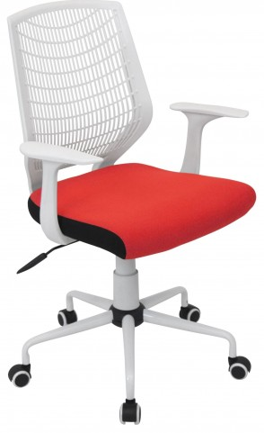 Network Red Office Chair