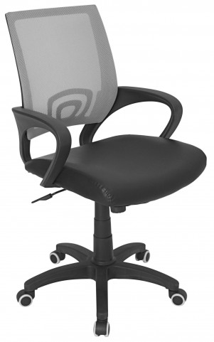 Officer Office Silver Chair