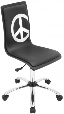 Printed Office Peace Chair