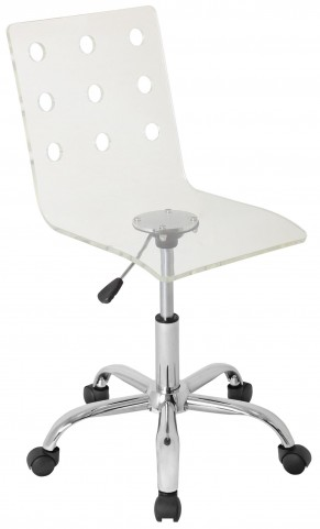 Swiss Acrylic Office Clear Chair