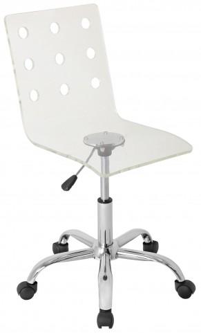 Swiss Acrylic Office Clear Chair