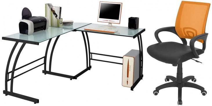 Gamma Black Home Office Set