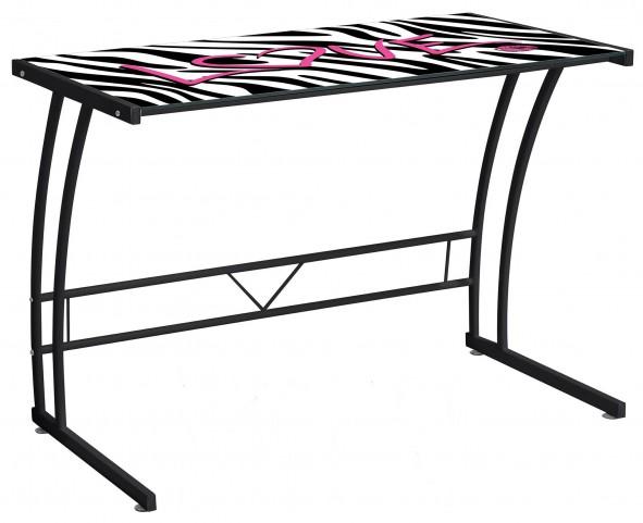 Zebra Love Graphic Top Sigma Desk