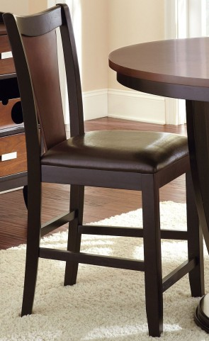 Oakton Two Tone Counter Chair Set of 2