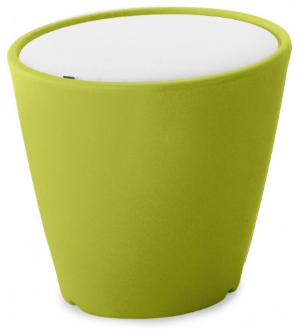 Omnia Multipurpose Green Cushion Top Pot/Vase/Seat/Table