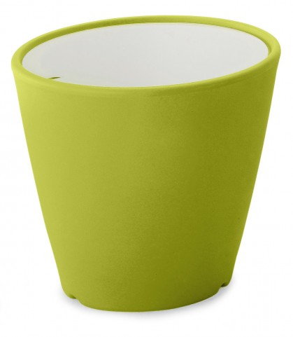 Omnia Multipurpose Green Glass Top Pot/Vase/Seat/Table