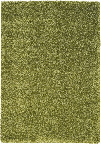"Opus Luxurious Green Shag 94"" Rug"