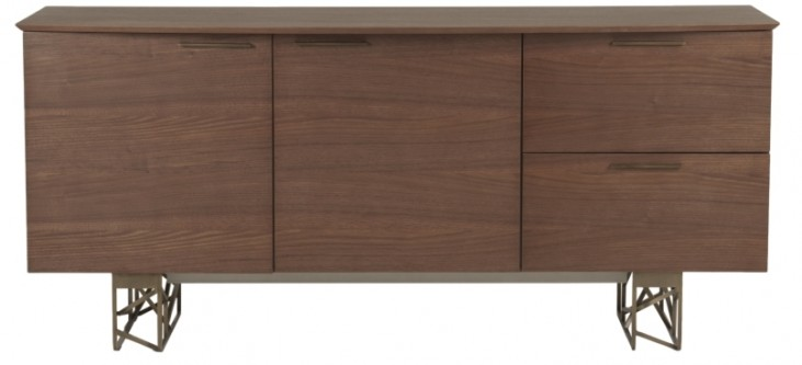Cleo Dark Walnut Oro Buffet
