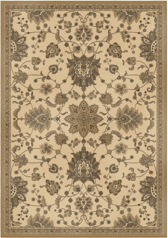 Orian Rugs Detailed Design Traditional Khan Ivory Area Small Rug