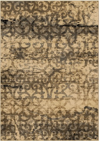 Orian Rugs Modern Design Scroll Buxton Bliss Beige Area Large Rug