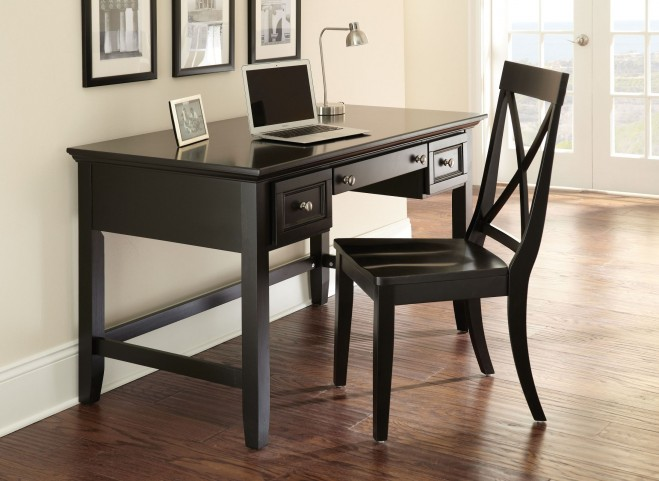 Oslo Black Home Office Set