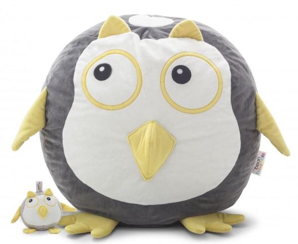 Big Joe Oscar the Owl with Lil Buddy Short Fur Bagimal