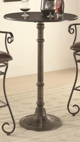 Oswego Round pedestal Bar Table