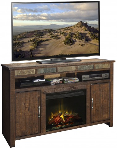 "Old West Old West 60"" Fireplace Console"