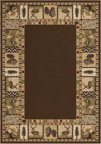 "Oxford High Country Sienna Medium 90"" Rug"