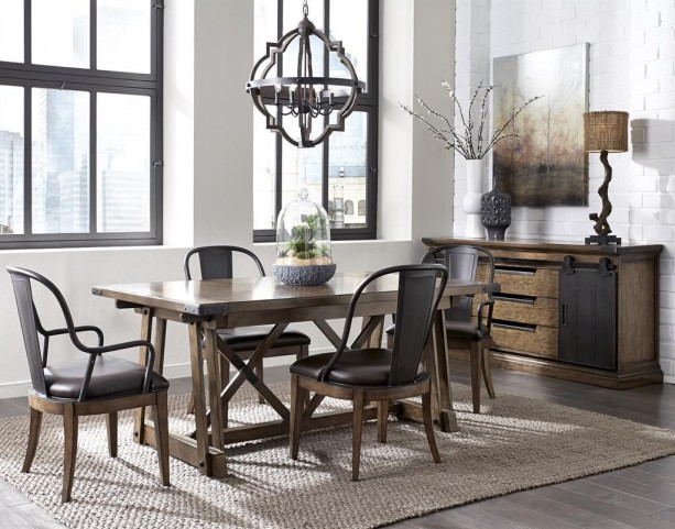 Weston Loft Rectangular Dining Room Set