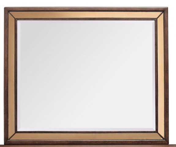Chrystelle Cognac Mirror
