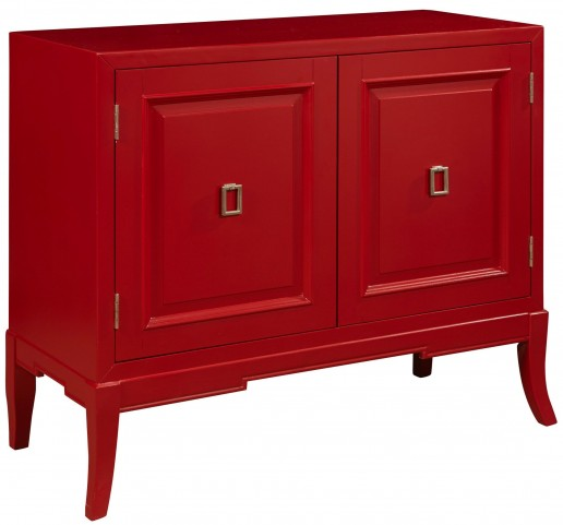 Habanero Red 2 Door Accent Chest