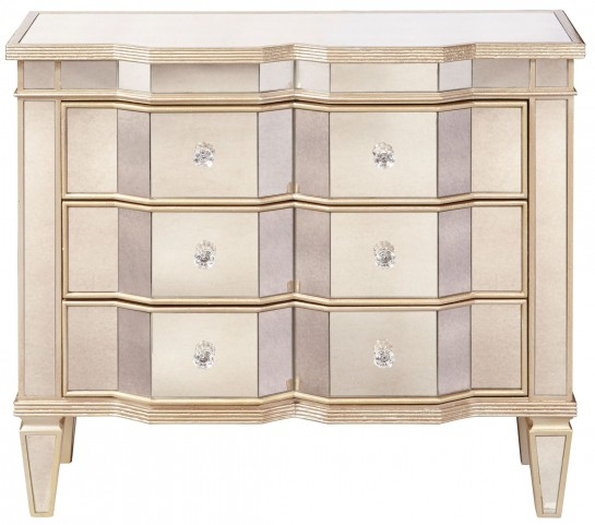 Mirrored Marquis Accent Chest