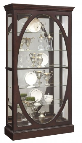 Sable Brown Glass Curio
