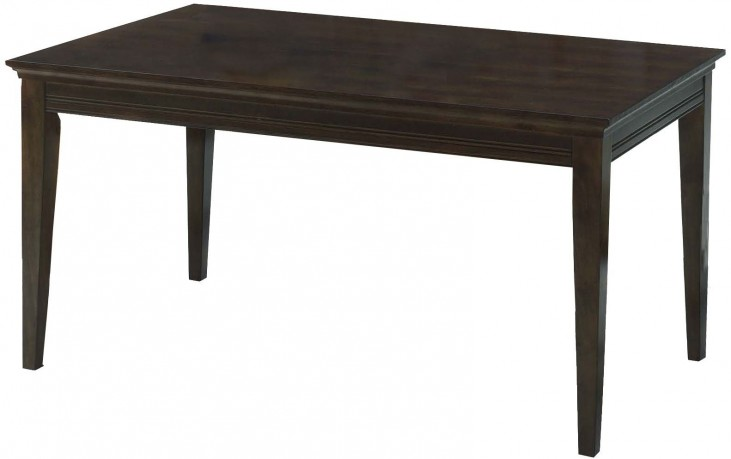 Casual Traditions Walnut Rectangular Dining Table